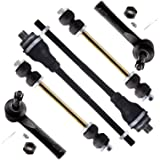 SCITOO 6pcs Suspension Kit 2 Sway Bar Links 2 Outer 2 Inner Tie Rod Ends for Cadillac Escalade EXT for Chevrolet…