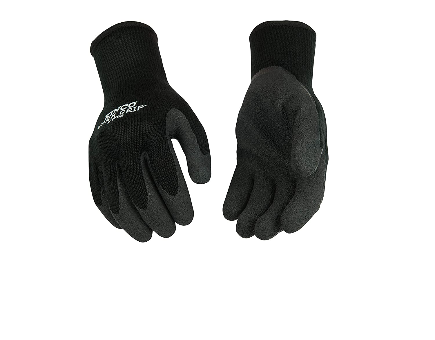 B0038KBN14 Kinco Warm Grip Thermal Knit Shell & Latex Palm 71FXYEngmaL
