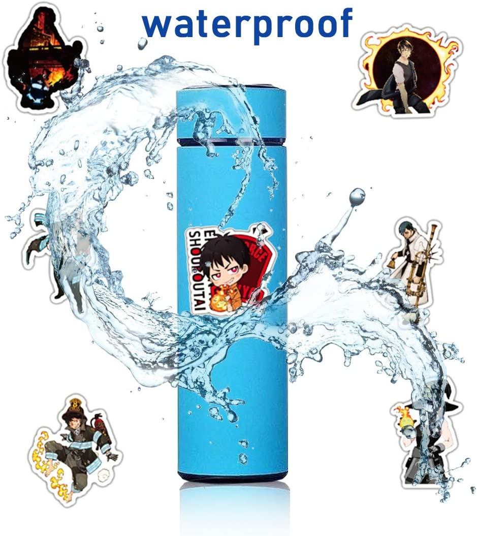 100pcs The Seven Deadly Sins Stickers Anime Sticker Waterproof and Doodle Stickers for Kids Teens Adults 100pcs The Seven Deadly Sins