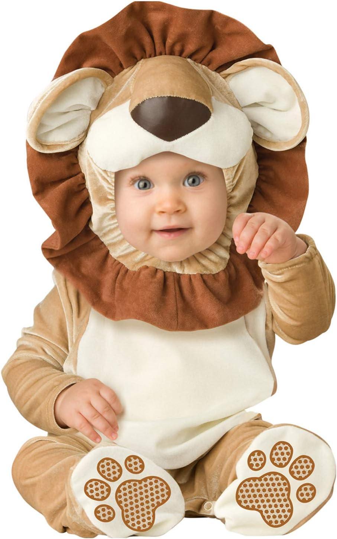 Disfraz León para bebé - Premium - De 0 a 6 meses: Amazon.es ...