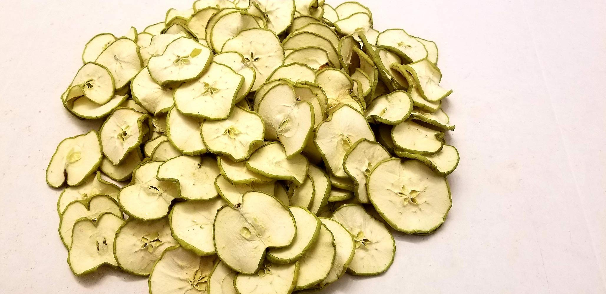 Little Valley Large 1 LB. Bag Dried Green Apple Slices - Perfect as Potpourri, Craft, Bowl Filler, Decoration - Not Meant Human Consumption by Little Valley