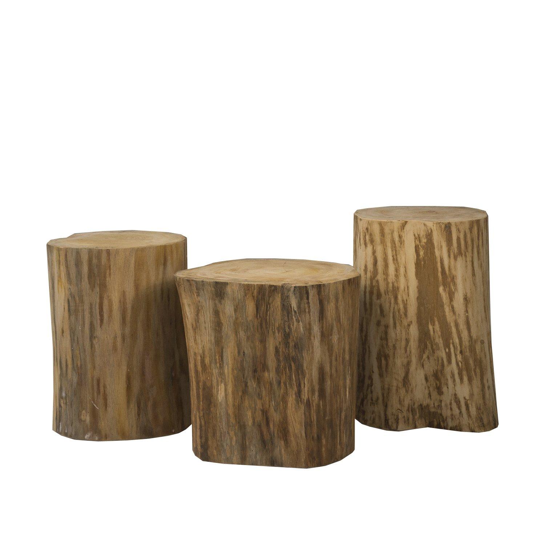 Padma's Plantation NAT06-19 Butlers Tables/TV Trays, Natural