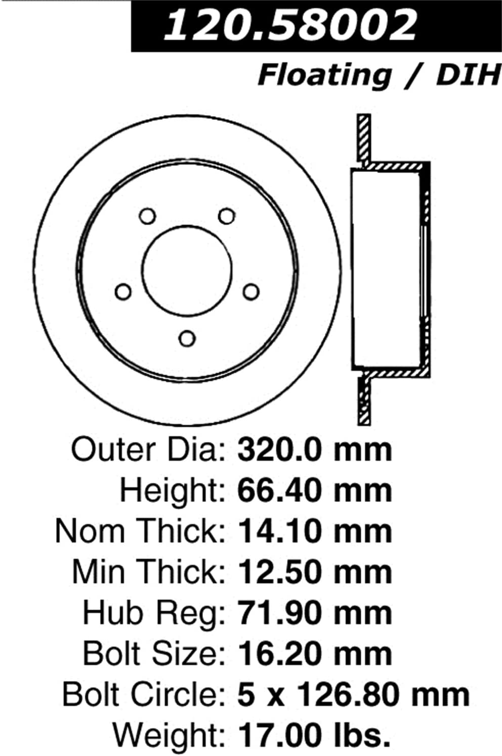 D/&D PowerDrive 16C6520J3 Metric Standard Replacement Belt 1 Band Rubber