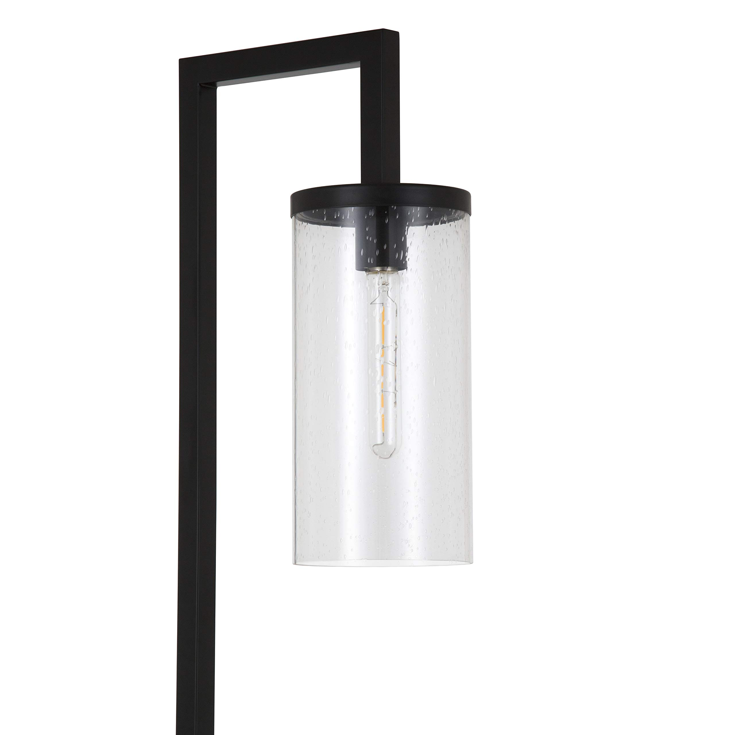 Henn&Hart FL0014 Modern Farmhouse seeded Task Lamp, One Size Black by Henn&Hart (Image #6)