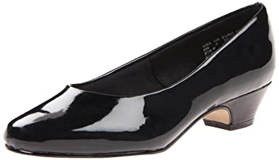 Soft Style Women's Angel II Pump,Black Patent,6 ...