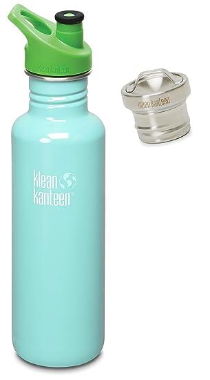 Amazon.com: Klean Kanteen - Botella de agua de acero ...