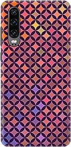 Stylizedd Huawei P30, Slim Snap Basic Case Cover Matte Finish - Wall Of Diamonds