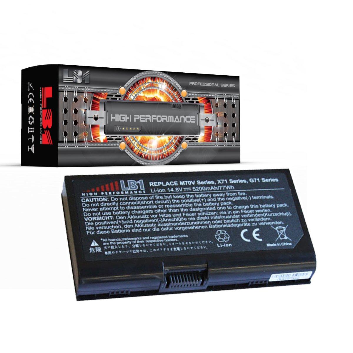 Bateria Para Asus A42-m70 Computer 8 Celdas 5200mah 14.8v