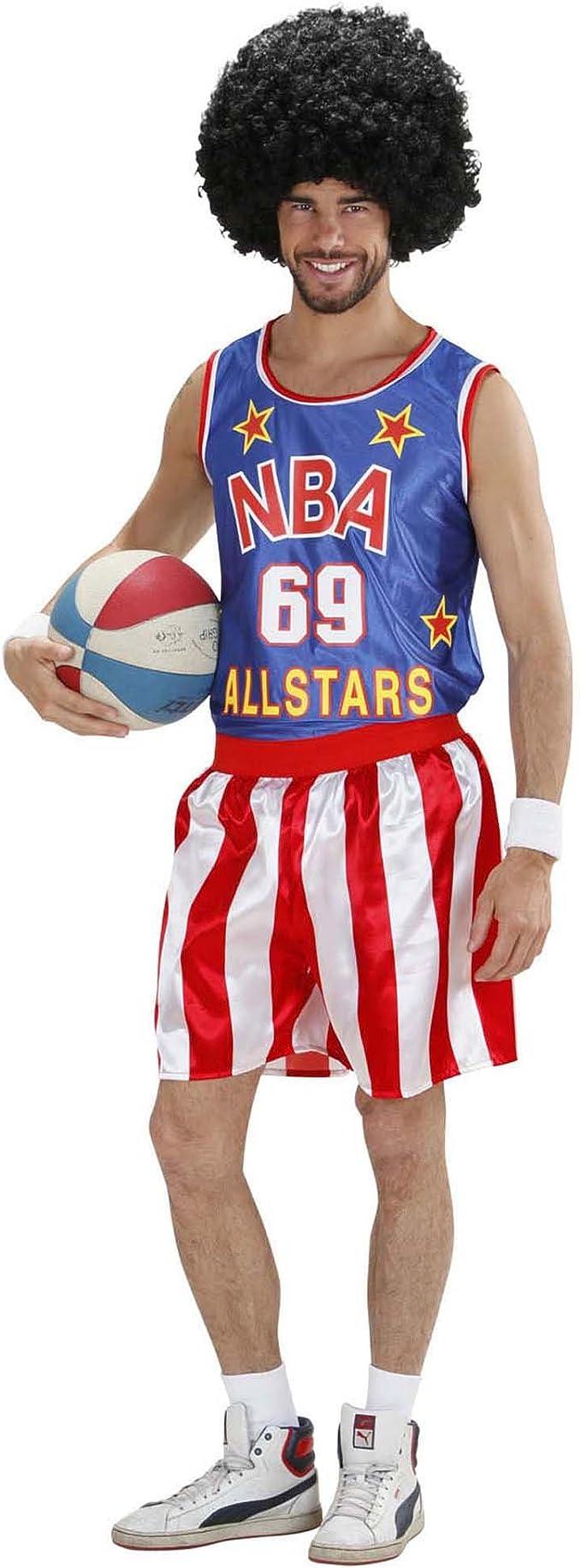 WIDMAN Baloncesto Traje de Jugador Extra Grande para American ...