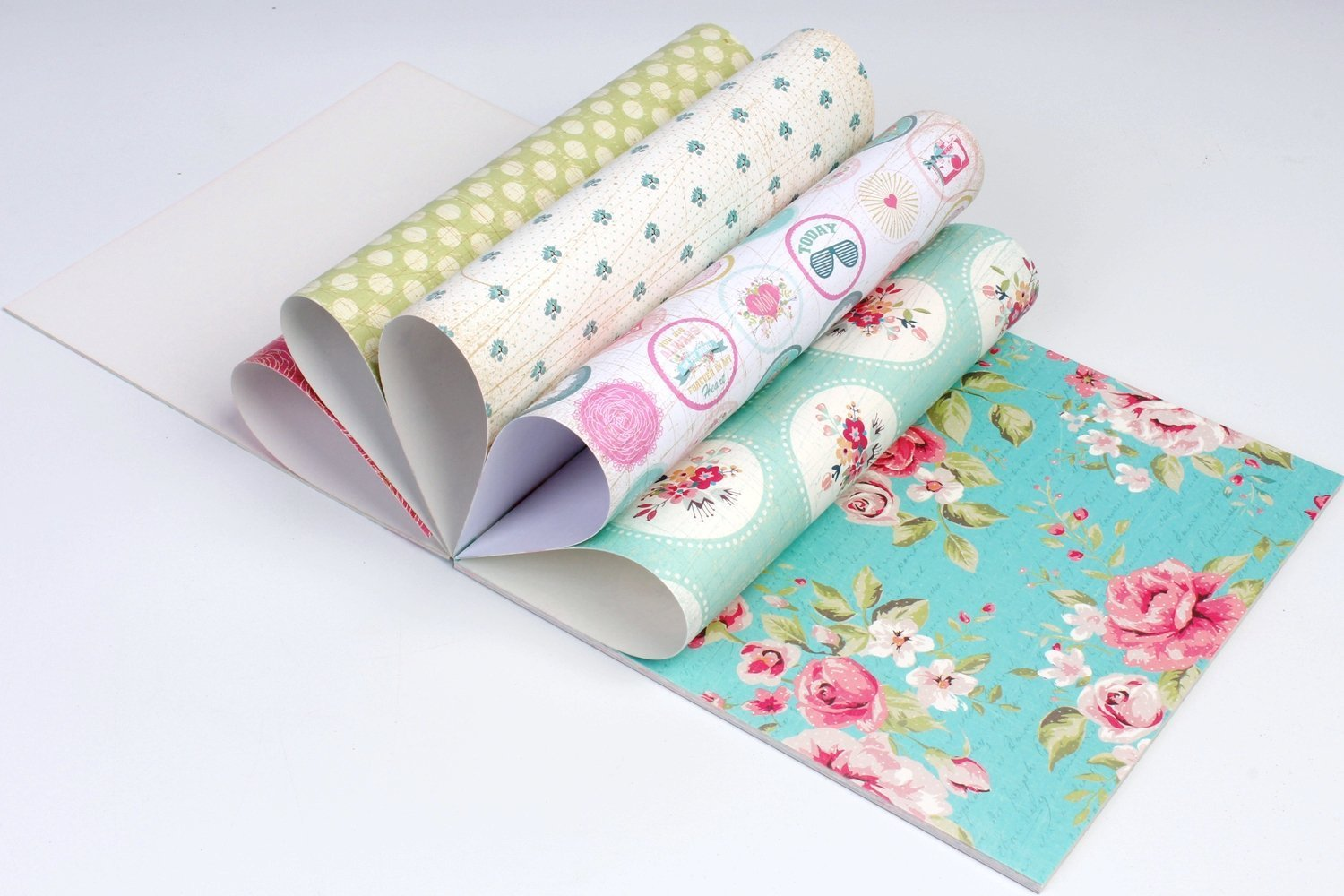 set of 40 thick beautiful pattern design printed papers for art n