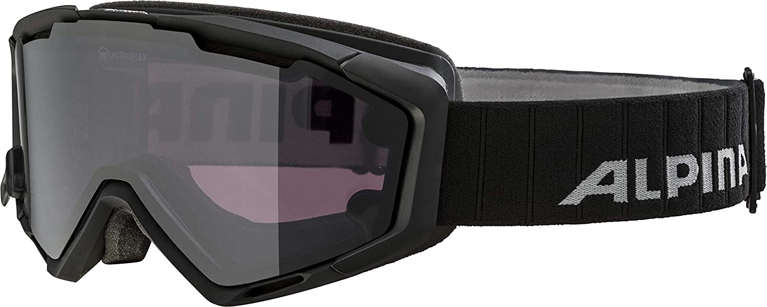 Black One Size ALPINA Panoma Magnetic Goggles