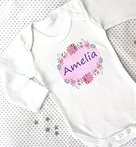Baby girl gift personalised baby giftsfree gift box baby grow baby girl gift personalised baby giftsfree gift box baby grow girls negle Choice Image