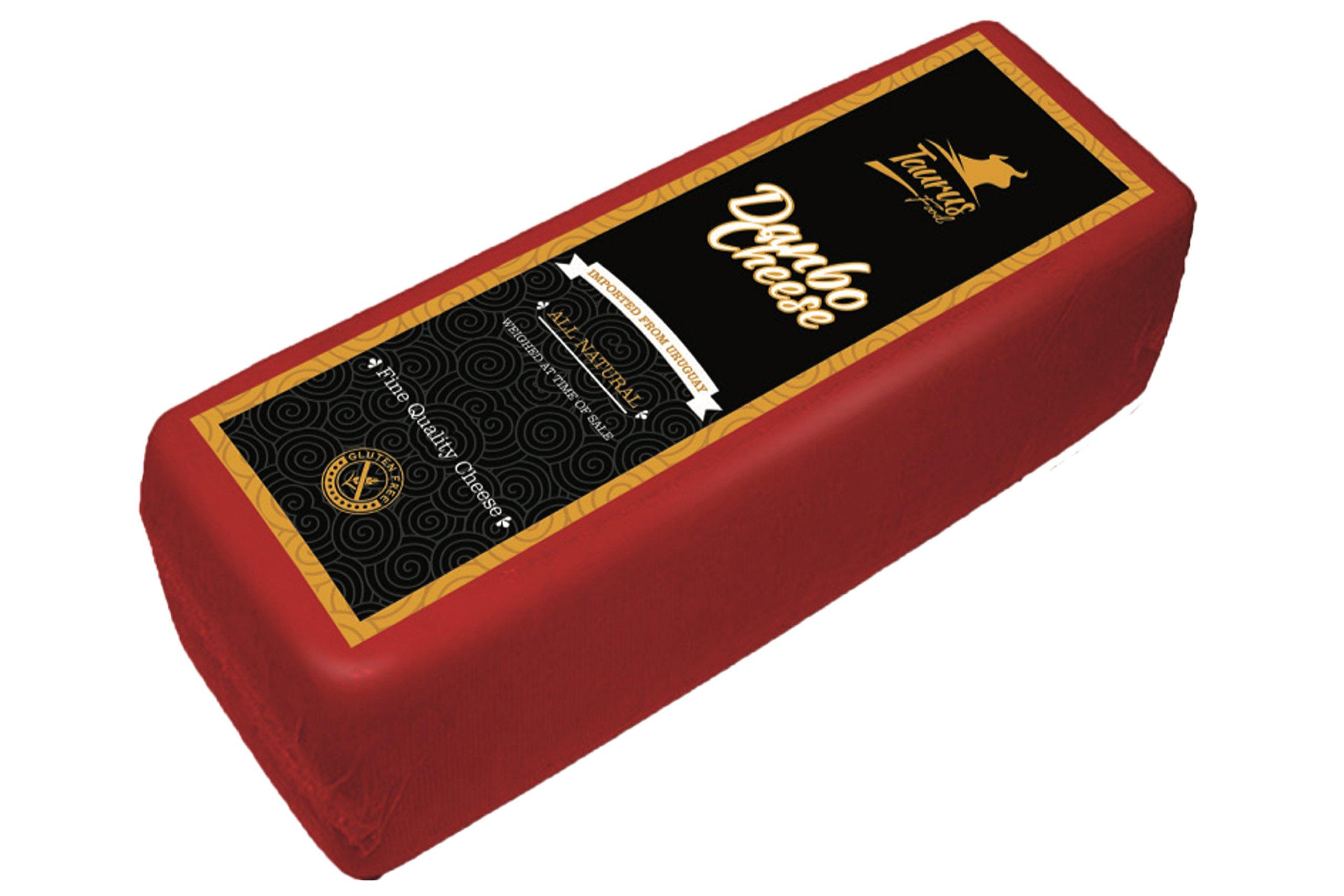 Danbo Gouda Style Uruguayan Matured - Semi-soft - Aged Danish Cheese (6.6 Pounds Approximately) Gluten & Hormone free