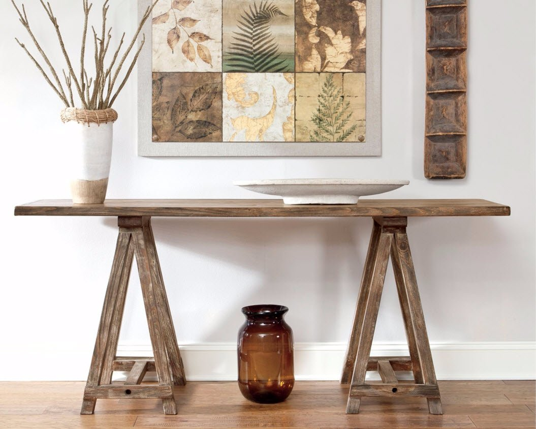 Ashley Furniture Signature Design - Vennilux Console Table - Vintage Casual - Light Brown by Signature Design by Ashley (Image #3)