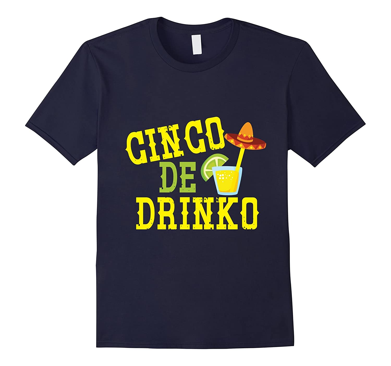 Cinco de Drinko Sombrero T-shirt-Vaci