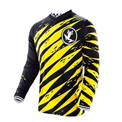 Amazon.com  Uglyfrog Winter Thermal Fleece Racing Downhill Jersey Men s  Cycling Mountain Bike Wear Long Sleeves Shirt Sportswear  Sports   Outdoors 23d71f639