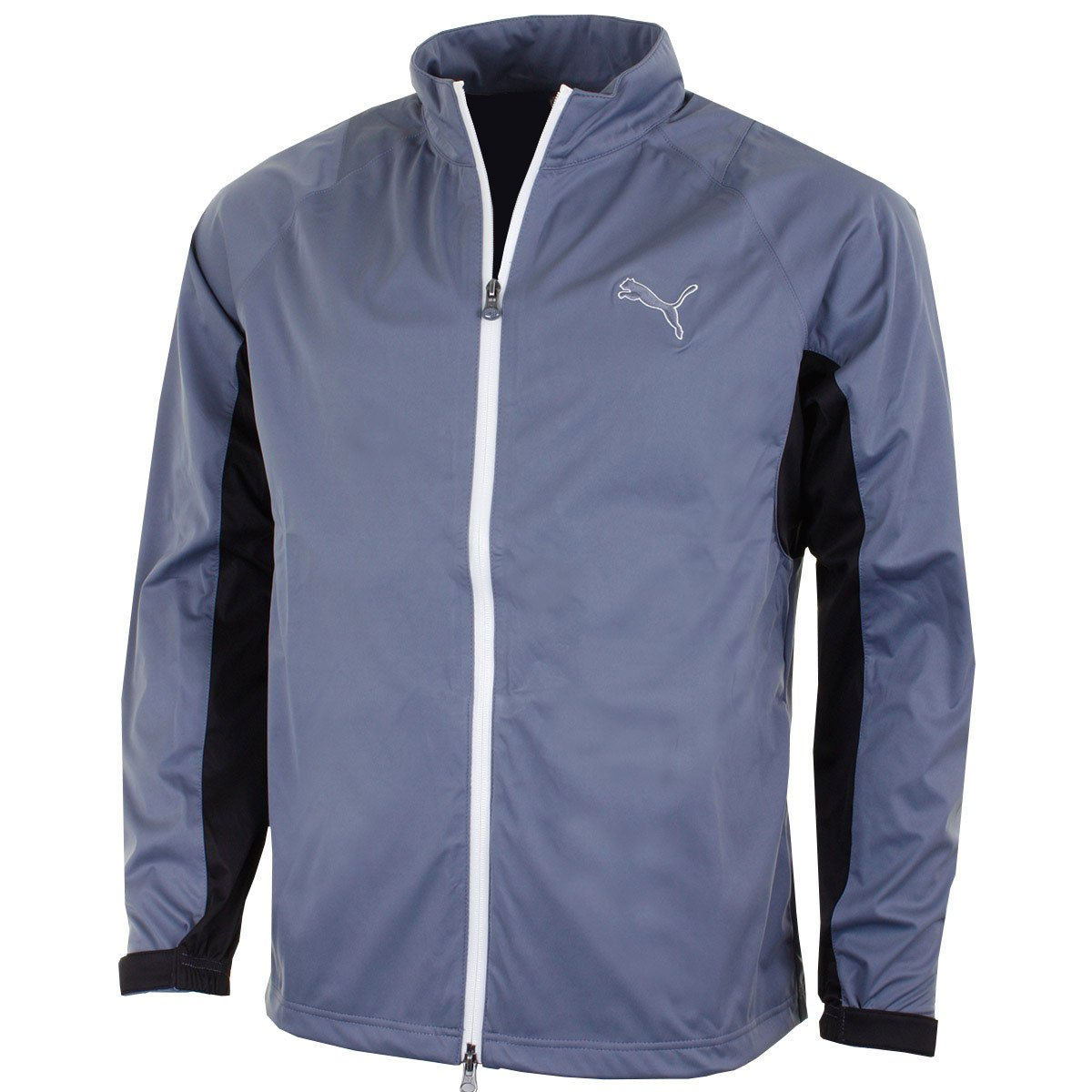 PUMA Golf Men's 568308 Waterproof Rain Jacket - US XS - Folkstone Grey