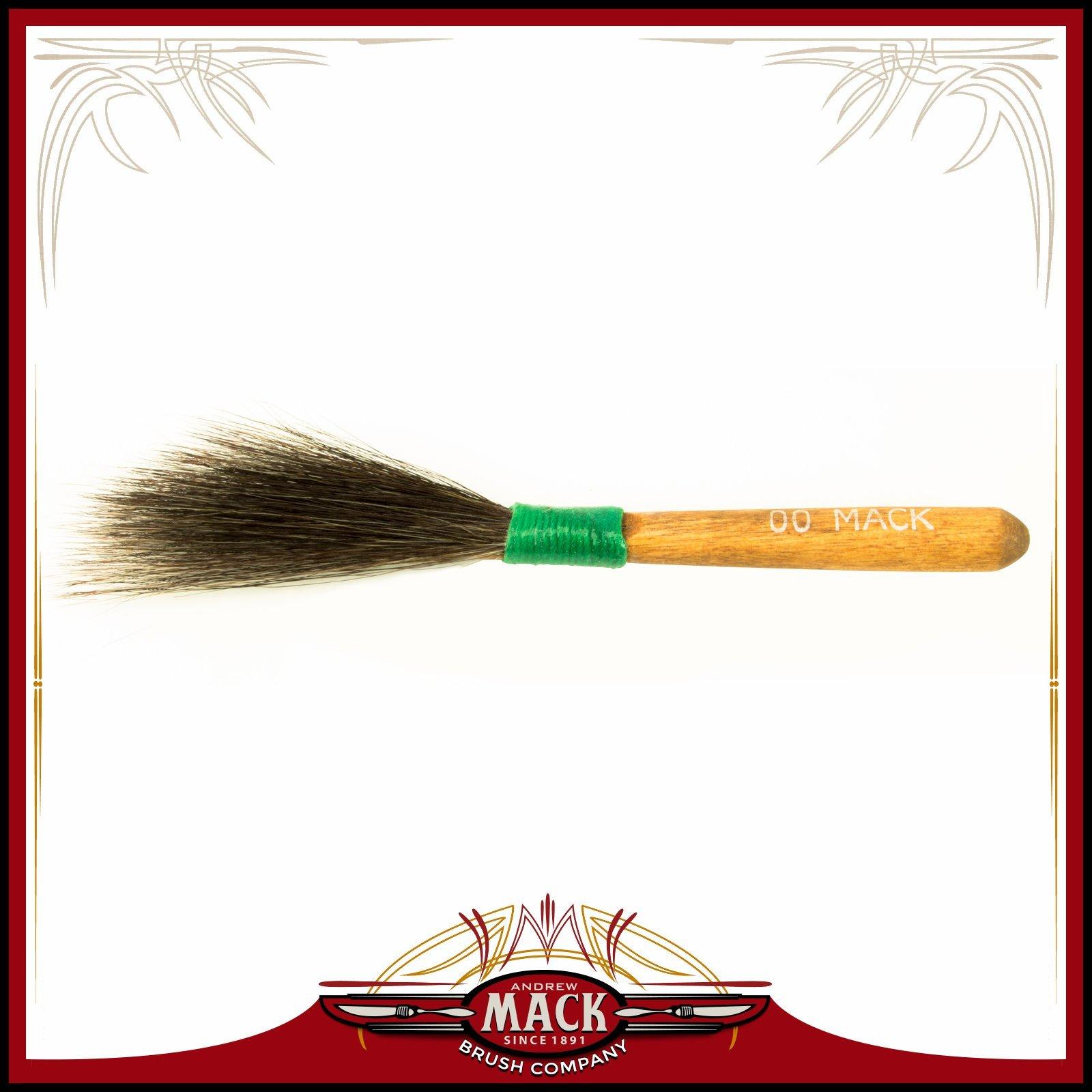 MACK Sword Striper PINSTRIPING BRUSH 20 SERIES Size 00 by Mack