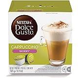 Nescafe Dolce Gusto Skinny Cappuccino Coffee Capsules - 16 Capsules (1500085)