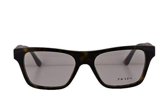 Amazon.com: Prada PR20QV Eyeglasses 50-16-140 Havana 2AU1O1 VPR20Q ...