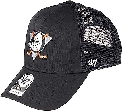 47 Gorra Trucker MVP Branson Anaheim Ducks Brand - Negro ...