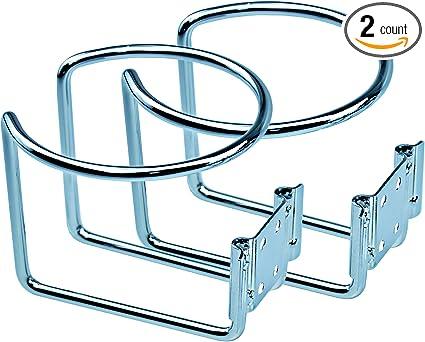 Adjustable Folding Drink Cup Bottle Holder Bracket  Car RV Boat Fishing Box UK