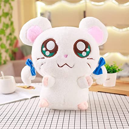 JEWH Cute Hamster Mouse Plush Toy - Stuffed Soft Animal Hamtaro - Doll Lovely Kids Baby