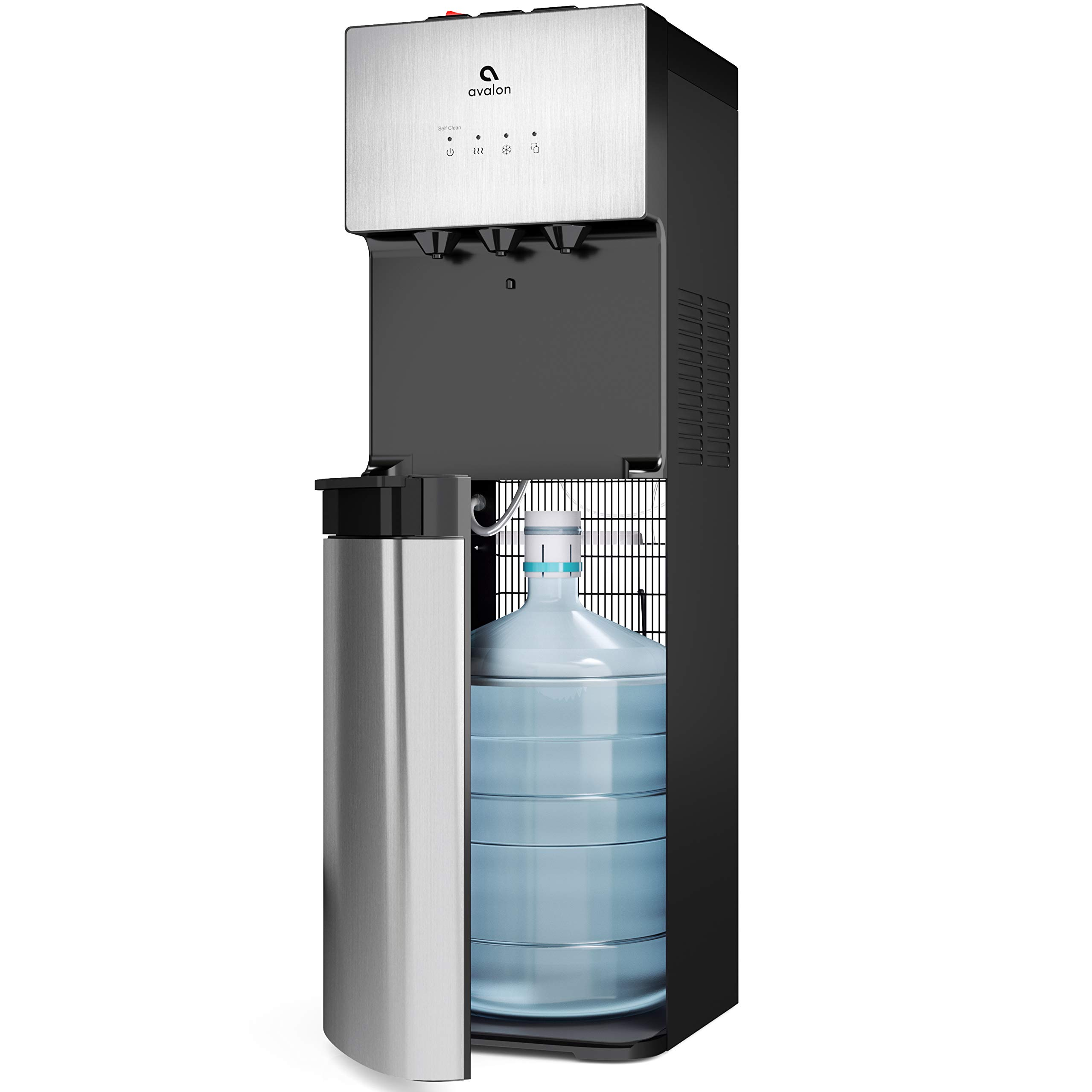 Avalon Limited Edition Self Cleaning Water Cooler Dispenser, 3 Temperature Settings - Hot, Cold & Cool Water, Durable Stainless Steel Construction, Bottom Loading - UL/Energy Star Approved by Avalon