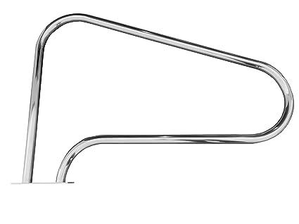 Amazon.com: FibroPRO Swimming Pool Hand Rail With Quick Mount Base ...