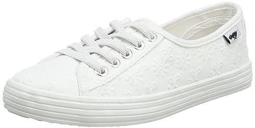 Rocket Dog Chowchow, Zapatillas para Mujer, Blanco (White White), 38 EU