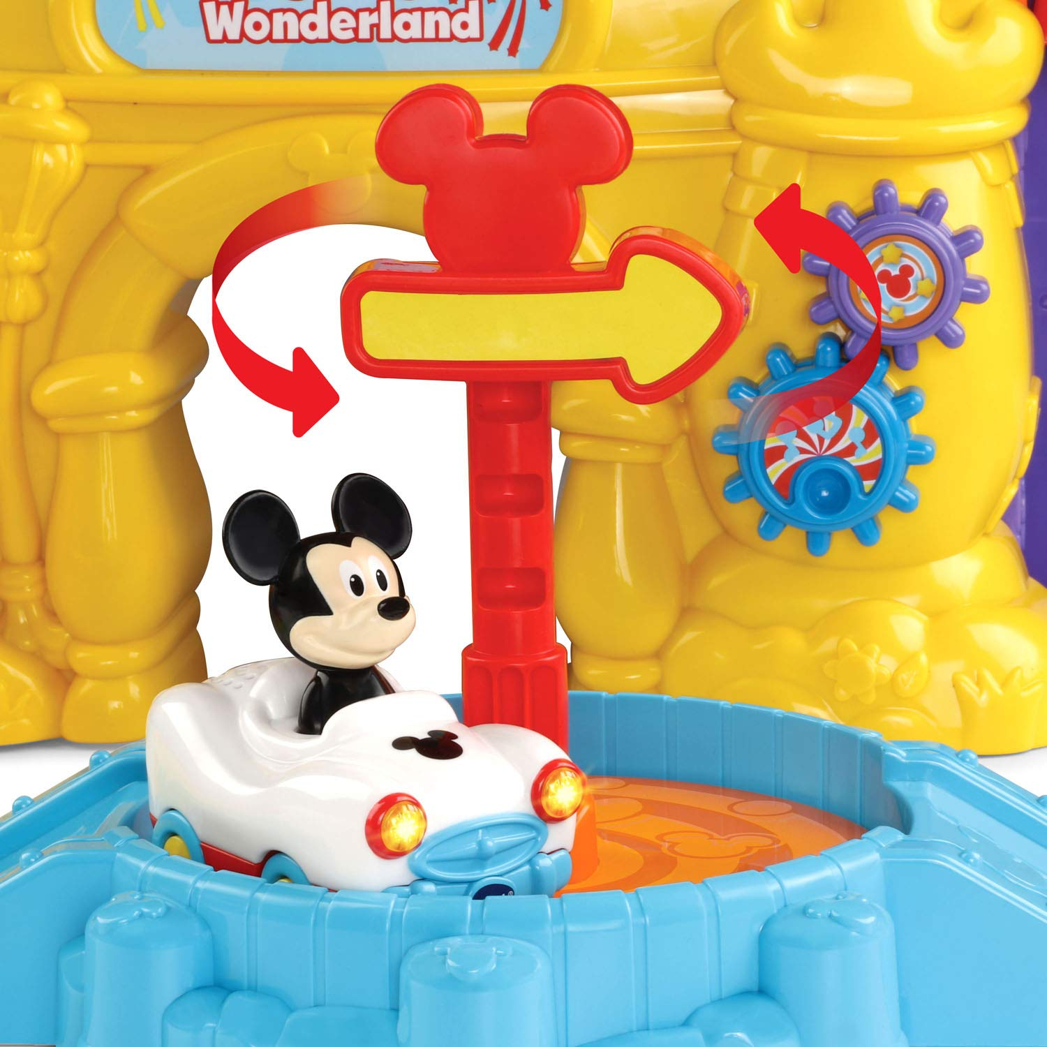 VTech Go! Go! Smart Wheels Mickey Mouse Magical Wonderland, Multicolor by VTech (Image #4)