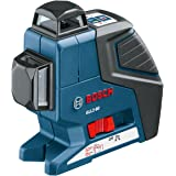 Bosch GLL 2-80 Dual Plane Leveling Laser with BM1 Positioning Device