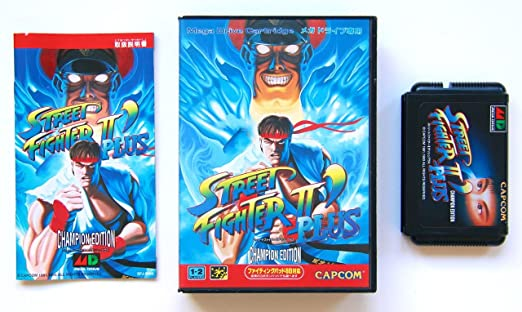 Amazon Com Street Fighter Ii Plus Champion Edition Japan