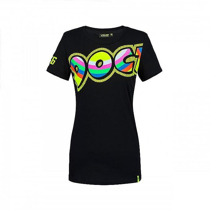 Vr46 Valentino Rossi 46 Arzt Donna Damen T Shirt Schwarz Amazon