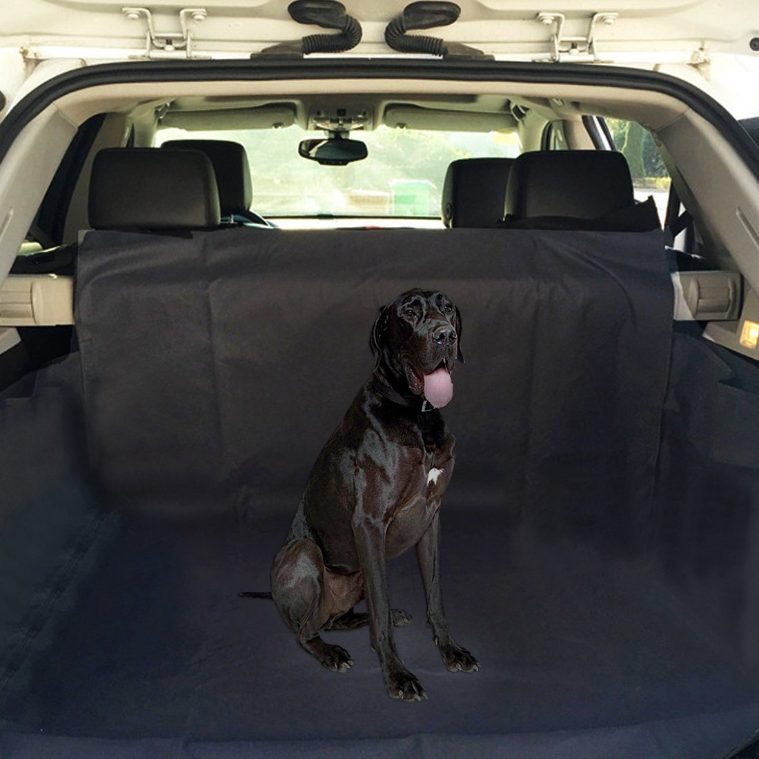 ploopy protection coffre voiture chien housse de siege voiture tapis ebay. Black Bedroom Furniture Sets. Home Design Ideas