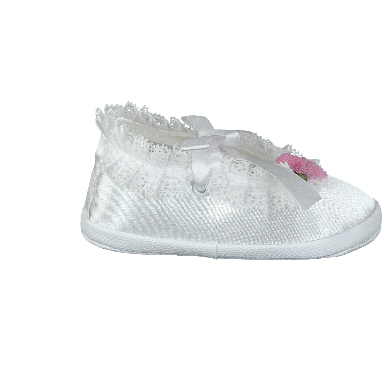 Satin Omnia-Baby Pantau.EU Taufschuhe Babyschuhe Lauflernschuhe Kinderschuhe Krabbelschuhe Fille Chaussures Premiers Pas pour b/éb/é Festliche Baby Schuhe