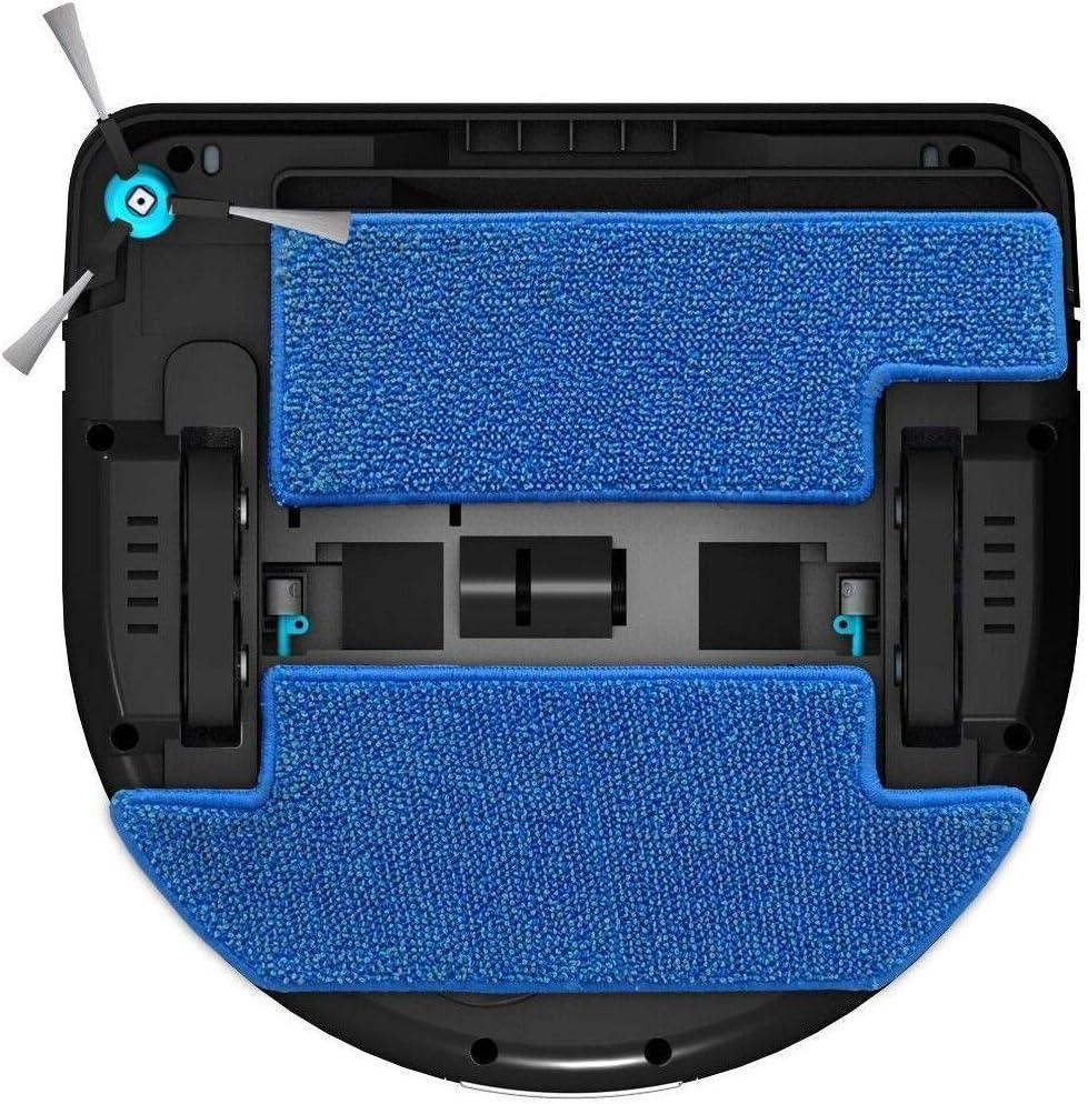 E. ziclean Robot Aspirador híbrido, plástico, Negro: Amazon.es: Hogar