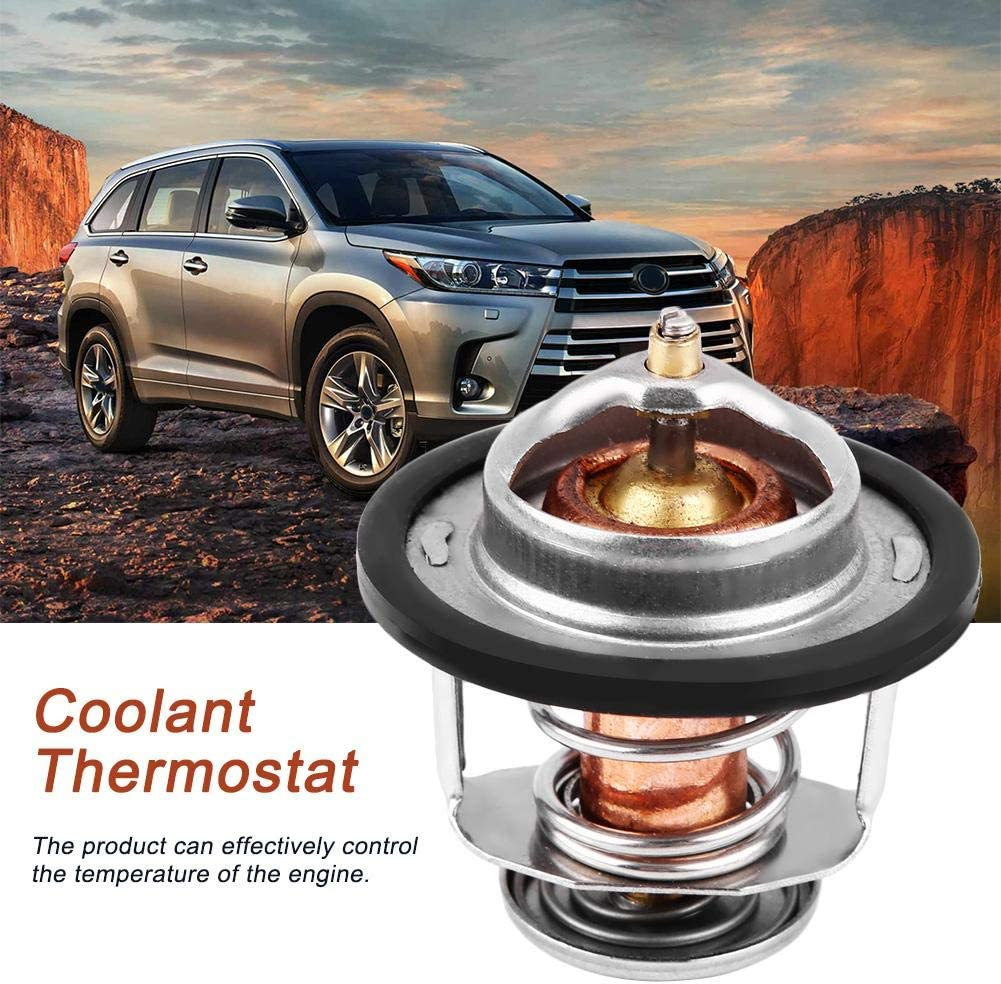 Engine Coolant Thermostat Original Equipment Engine Coolant Thermostat Assembly for Toyota Corolla 1984-1996 90916-03046