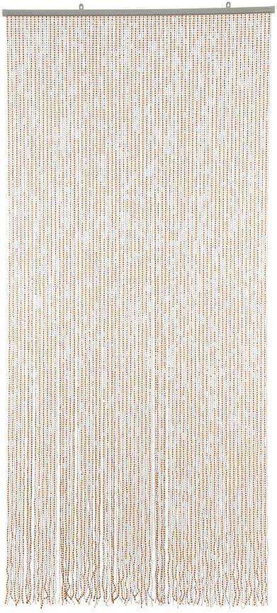 Mehrfarbig HAB /& GUT T/ürvorhang Mini-DIAMANTEN Insektenschutz Perlen Pailettenvorhang 90x200 sehr dicht