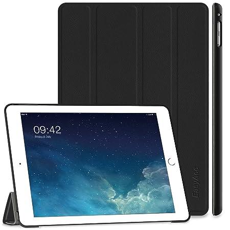 EasyAcc Ultra Slim Schutzhülle für iPad Air 2 2014 Modell:A1566/A1567, Schwarz