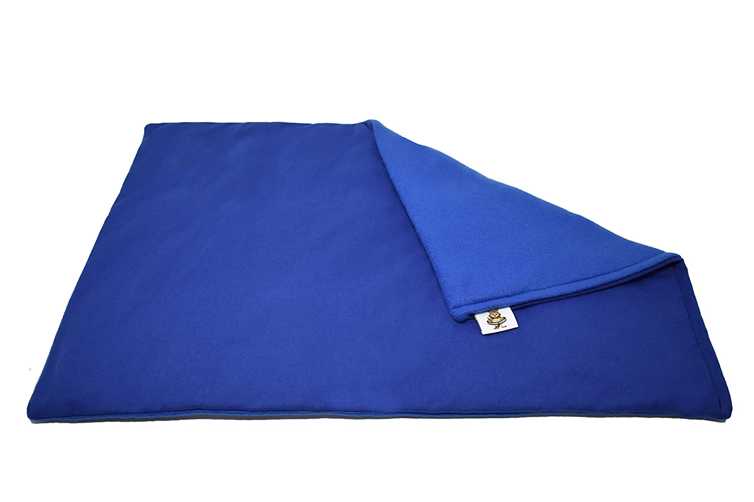 """Sensory Goods Small Weighted Lap Pad - 3lb - 12"""" x 16"""" (Blue)"""