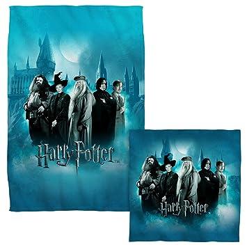 Profesores de Hogwarts - Harry Potter - -Cara y juego de toallas de mano (: Amazon.es: Hogar
