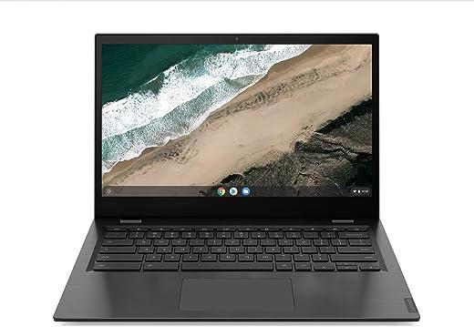"Lenovo Chromebook S345 Notebook, Display 14"" Full HD TN, Processore AMD A6-9220C, 64 GB eMMC, RAM 4 GB, Chrome OS, Mineral Grey"