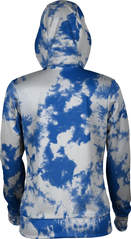 School Spirit Sweatshirt ProSphere Tennessee State University Girls Zipper Hoodie Grunge