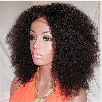 Mongolian kinky curly human hair wigs