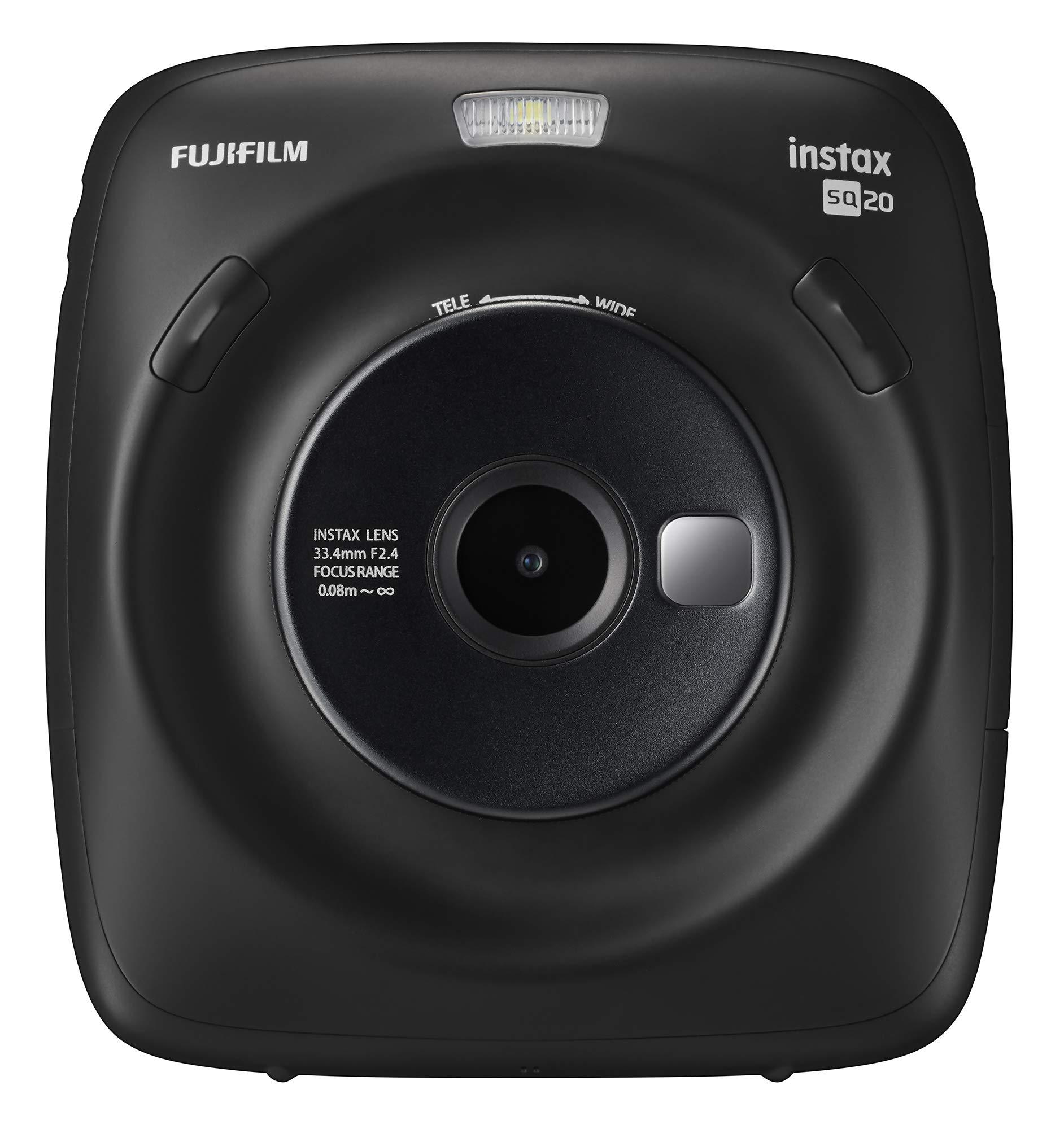 Fujifilm Instax Square SQ20 Instant Film Camera - Black by Fujifilm