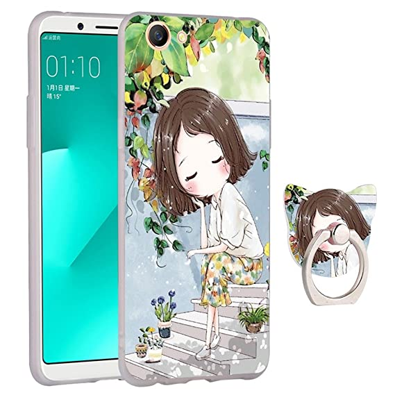 Amazon com: HENGHUA Case for OPPO A83, Soft TPU Ring Holder