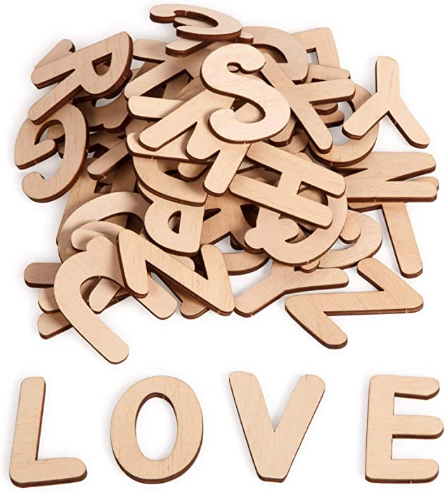 Top 10 Small Paintable Wooden Letters Wall Decor