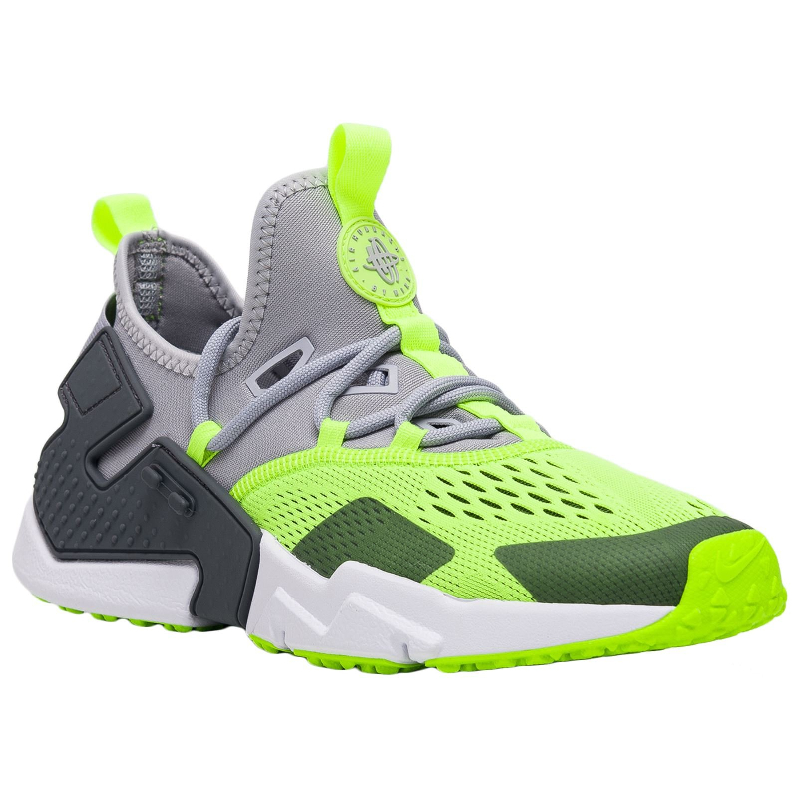 4a2ed733518c Galleon - Nike Air Huarache Drift BR Mens Shoes Wolf Grey Volt Dark  Grey White Ao1133-001 (10 D(M) US)