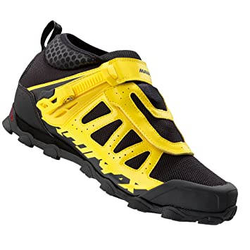 Mavic Crossmax XL Pro zapatos, color amarillo y negro, tamaño 7